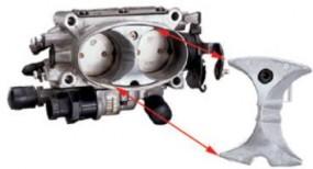 Throttle Body Air Flow Booster Bj.85-96