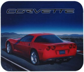 Mouse Pad C6 rot
