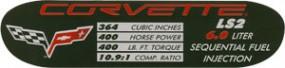 Datenplatte C6 Bj.05-07 LS2